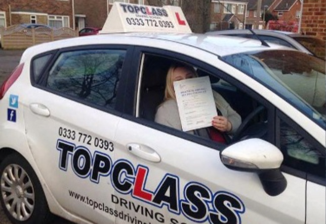 Driving Lesson Test Pass in Gillingham - Ashley Lazenby