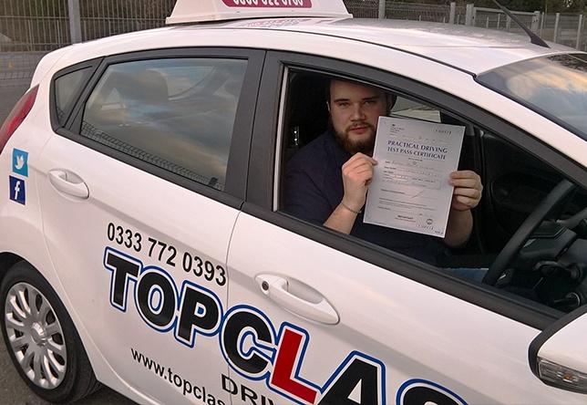 Driving Lesson Test Pass in Gillingham - Ben Luckhurst