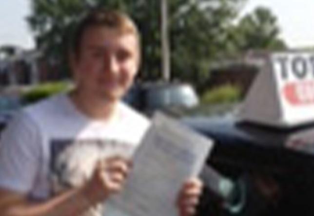 Driving Lesson Test Pass in Faversham - Brandon