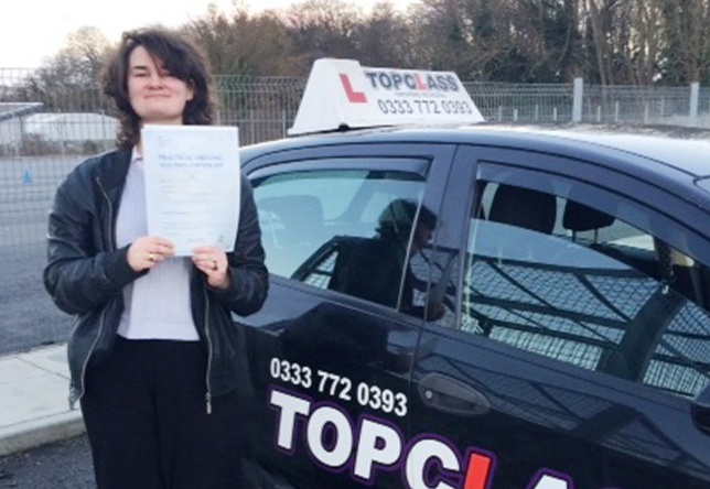 Driving Lesson Test Pass in Rochester - Grace wright
