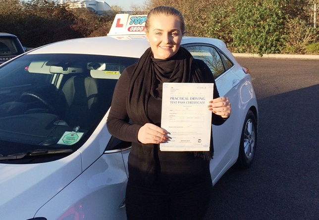 Driving Lesson Test Pass in Gravesend - Honey Lou