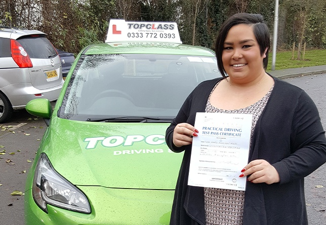 Driving Lesson Test Pass in Gillingham - Katie Johns