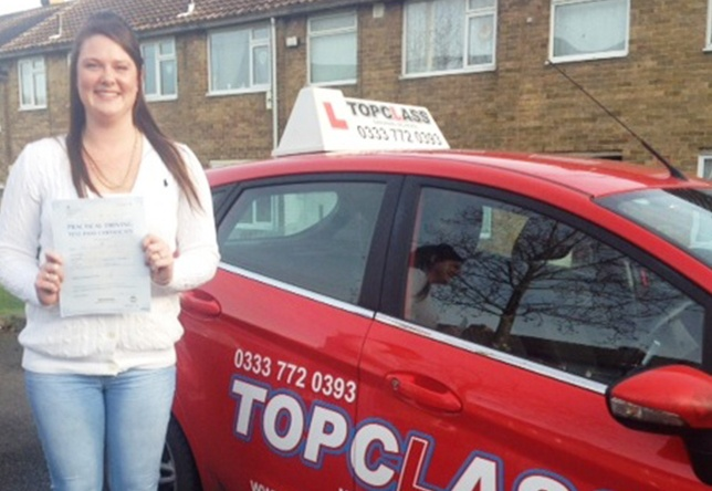 Driving Lesson Test Pass in Chatham - Meysha Collier