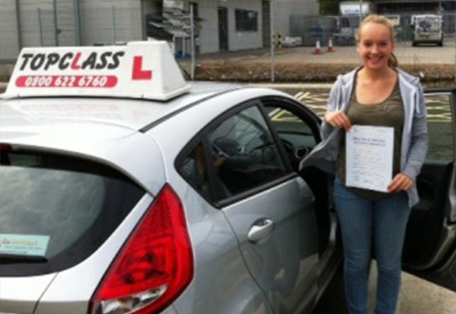 Driving Lesson Test Pass in Gillingham - Robin Wickham