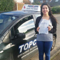 Driving Lessons Sittingbourne - Customer Reviews - Sheree Singh
