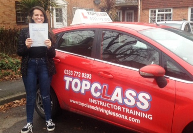 Driving Lesson Test Pass in Gillingham - Tia Avery