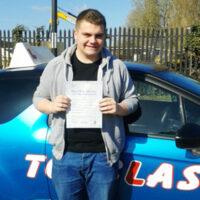 Driving Lessons Faversham - Customer Reviews - Oliver Van Gent