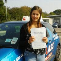 Driving Lessons Sheerness - Customer Reviews - Chloe Eaton