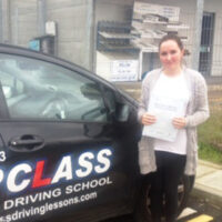 Driving Lessons Sheerness - Customer Reviews - Kathryn Pullen