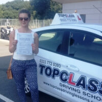 Driving Lessons Sittingbourne - Customer Reviews - April Ward