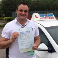 Driving Lessons Gravesend - Customer Reviews - Daniel Connally
