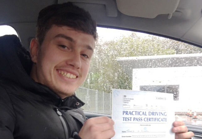 Driving Lesson Test Pass in Gillingham – James George