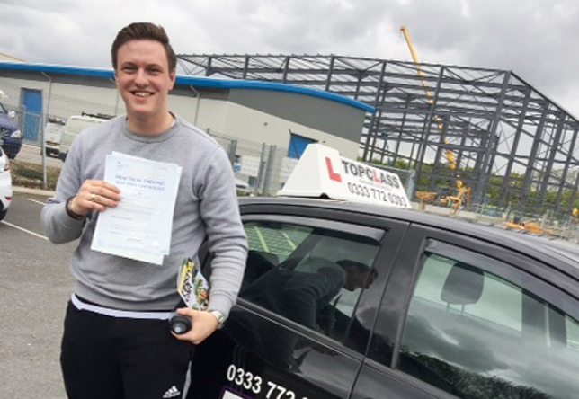 Driving Lesson Test Pass in Gillingham – Miles Carter