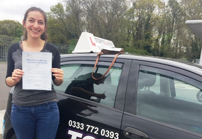 Driving Lesson Test Pass in Gillingham - Maria Andreou