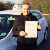 Driving Lessons Gravesend - Customer Reviews - Honey Lou