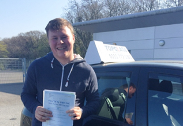 Driving Lesson Test Pass in Gillingham - Jack Holden
