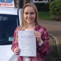 Driving Lessons Gravesend - Customer Reviews - Jaime Anne