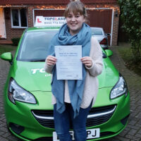 Driving Lessons Sittingbourne - Customer Reviews - Lydia Bradley