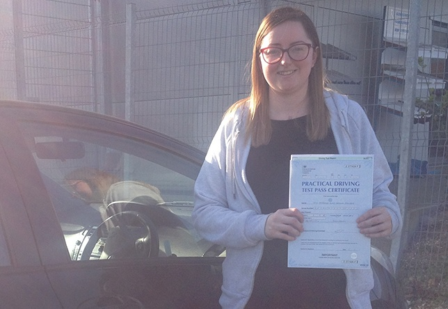 Driving Lesson Test Pass in Gillingham - Stephanie Archer