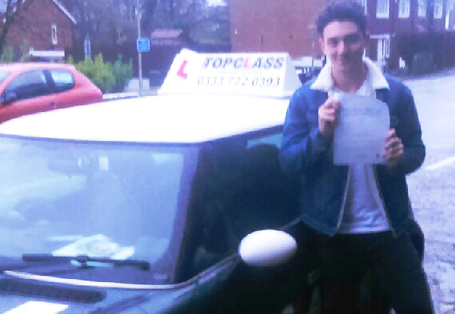 Driving Lesson Test Pass in Chatham – Kieran White