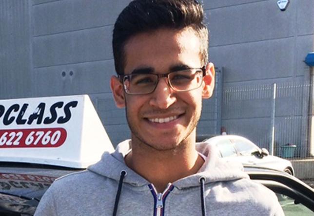 Driving Lesson Test Pass in Gillingham – Abhinav Hanspal
