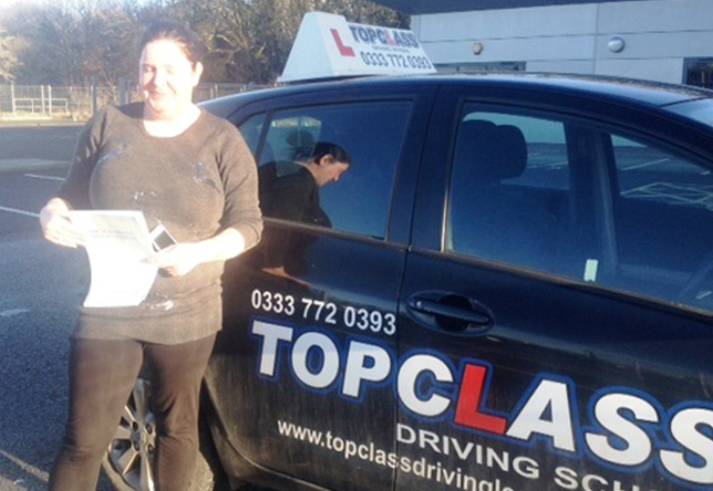 Driving Lesson Test Pass in Gillingham – Tasha Butt