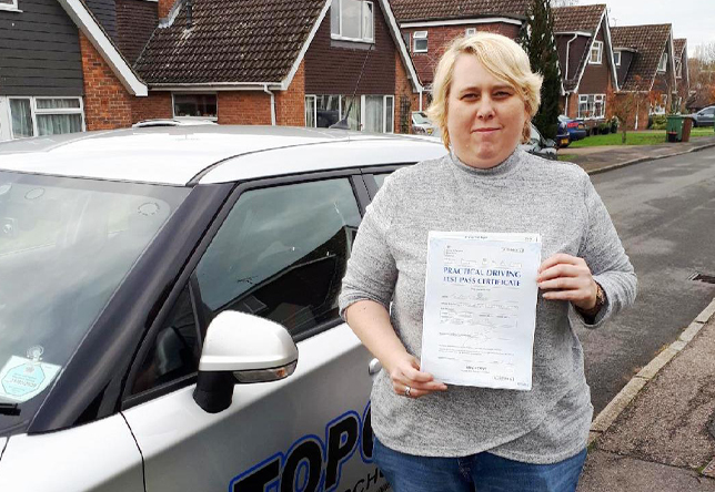 Driving Lesson Test Pass in Maidstone – Kelly Callaghan