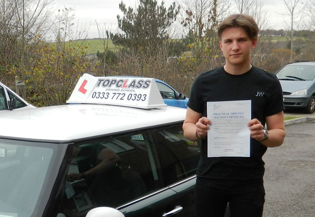 Driving Lesson Test Pass in Rochester – Chris Goodman