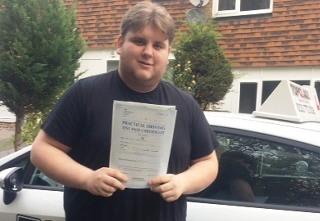 Driving Lesson Test Pass in Rochester – Sam Osmon