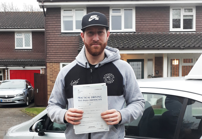 Driving Lesson Test Pass in West Malling – Christian Dean