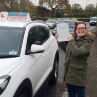 Driving Lessons Gravesend – Customer Reviews – Shannon Wood