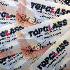 Gift Voucher (Physical) - Topclass Driving School
