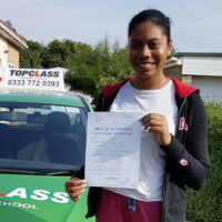Driving Lessons Sittingbourne - Customer Reviews - Henrike Gbinigie