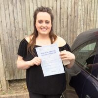 Driving Lessons Strood - Customer Reviews - Nicole Sartain