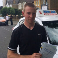 Driving Lessons Gravesend - Customer Reviews - Samuel Chapman