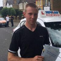 Driving Lessons Gravesend - Customer Reviews - Samuel Chapman