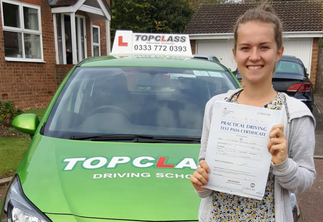 Driving Lesson Test Pass in Gillingham - Bethany Murrell