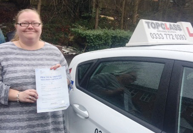 Driving Lesson Test Pass in Chatham – Terri