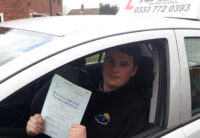 Driving Lesson Test Pass in Kings Hill – Sebastion Hersey