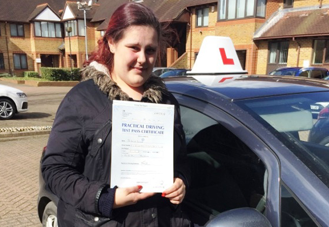 Driving Lesson Test Pass in West Mailling – Debbie Fennel