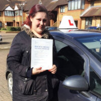 Driving Lessons West Mailling – Customer Reviews – Debbie Fennel