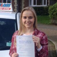 Driving Lessons Gravesend - Customer Reviews - Jamie Ann