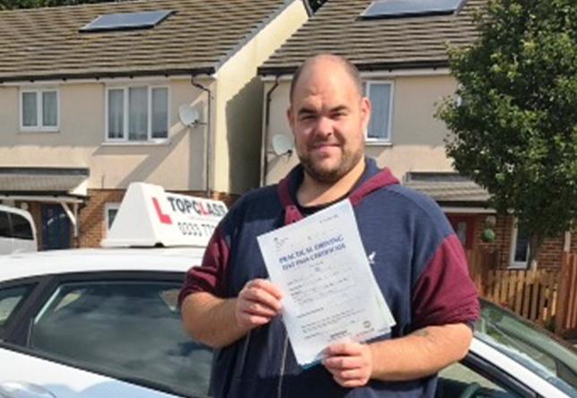 Driving Lesson Test Pass in Gillingham - Daniel Philips