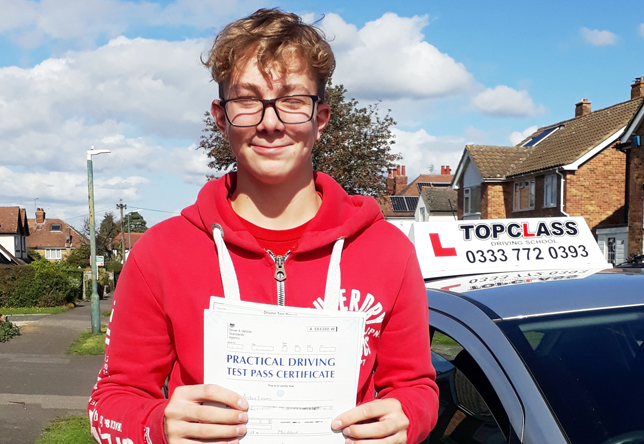 Driving Lesson Test Pass in Maidstone – Archie Evans