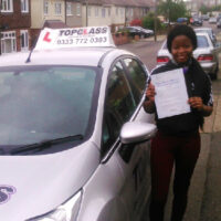 Driving Lessons Chatham – Customer Reviews – Florence Ajoberin