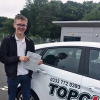 Driving Lessons Gillingham - Customer Reviews - Ethan Chittock