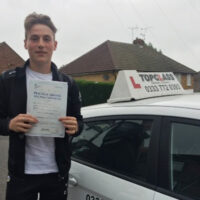 Driving Lessons Gillingham - Customer Reviews - Ethan Stewart