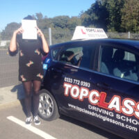 Driving Lessons Maidstone - Customer Reviews - Kirstie