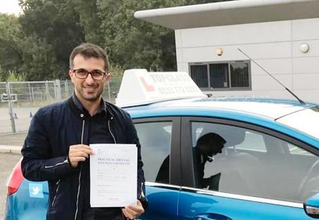 Driving Lesson Test Pass in Gillingham - Mauro Melis