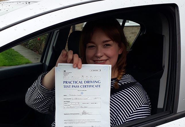 Driving Lesson Test Pass in Maidstone - Natalie Smith